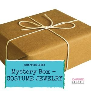 Mystery Box of Costume Jewelry 5 pieces